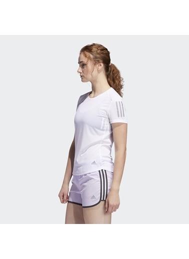 adidas Adidas Fm5812 Own The Run Kadın Koşu Tişört Beyaz